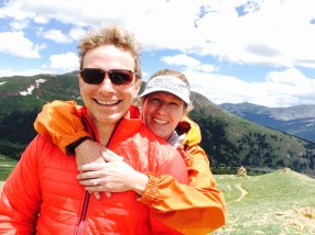 David and I engaged on the Colorado Trail