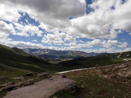view from the colorado trail