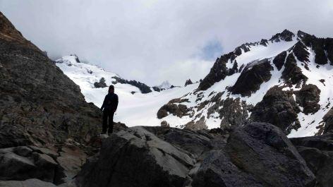 glacier de los tres