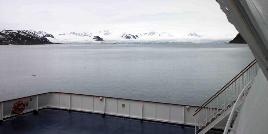 Lilliehöökfjorden in the arctic