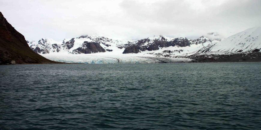 14th july glacier in the arctic