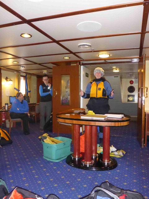kayak meeting in the arctic