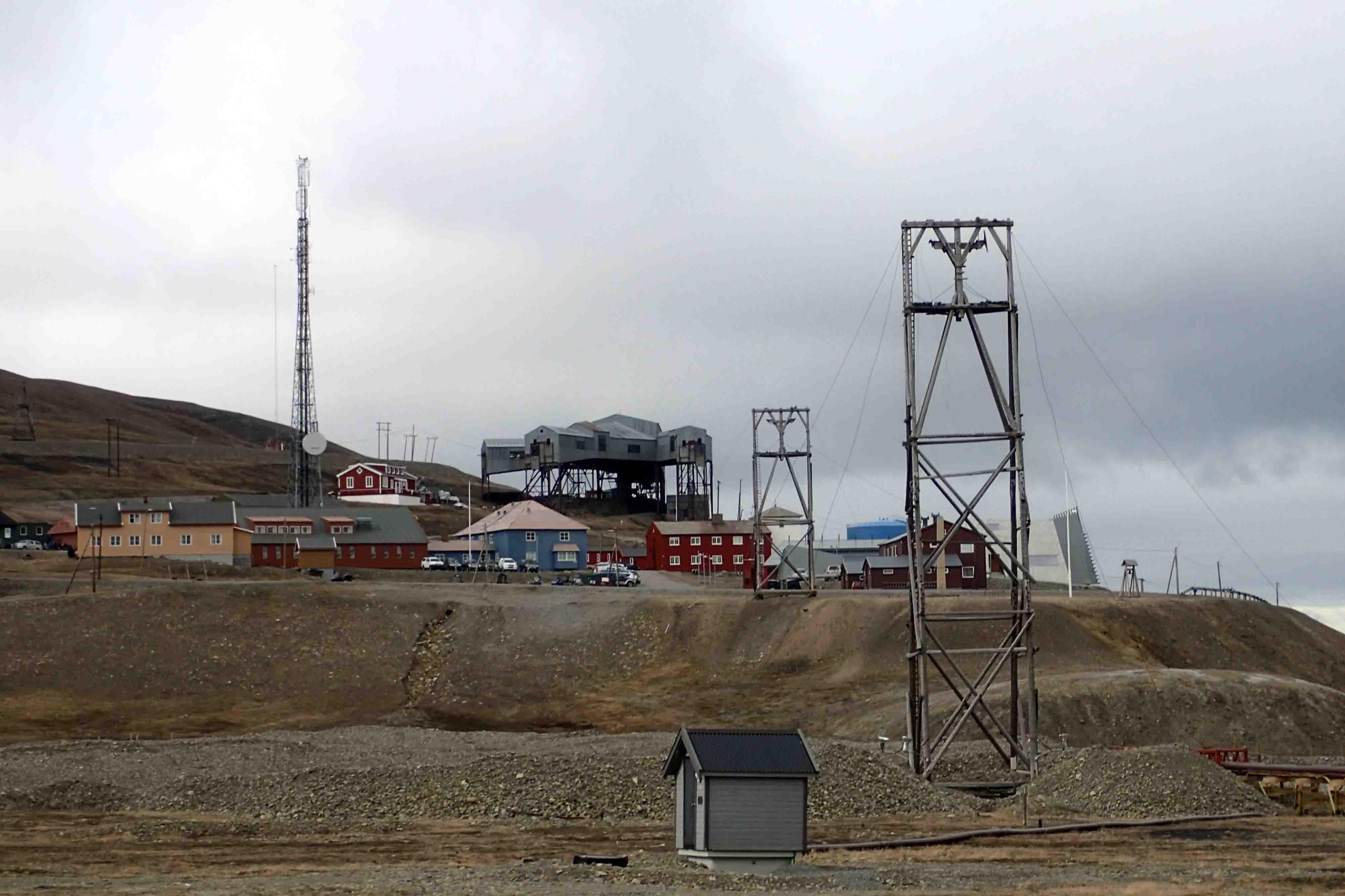 mine in longyearbyen