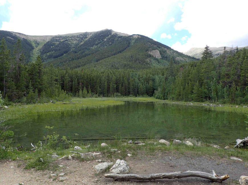 pond on The Colorado Trail