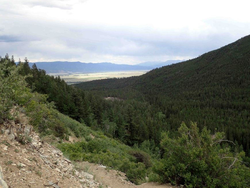 view on The Colorado Trail