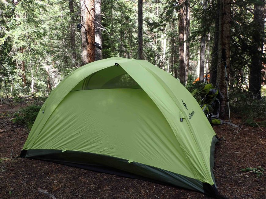 camping on The Colorado Trail