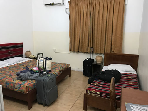 our room at amman pasha hotel