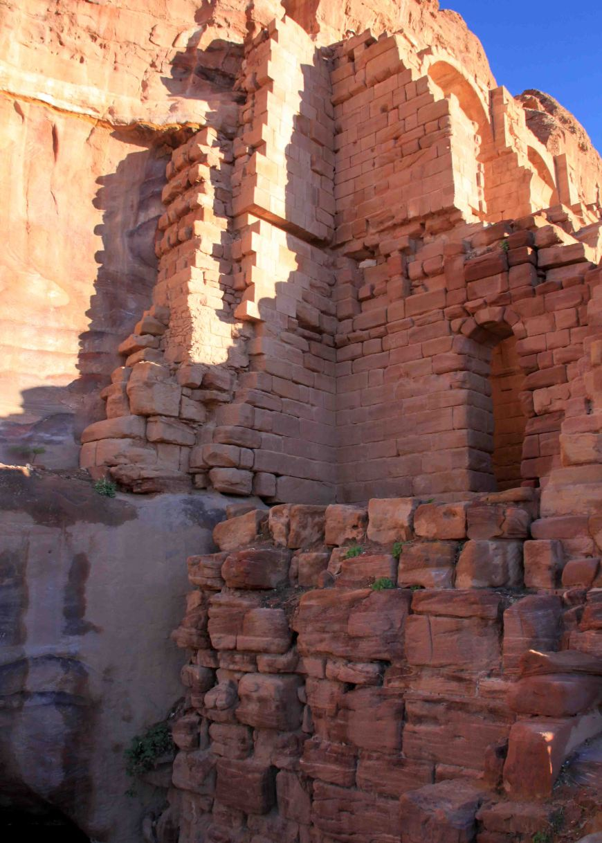 the royal tombs of petra