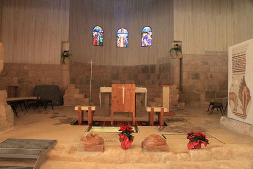 church at mt nebo