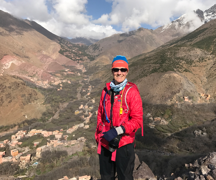 me in the high atlas mountains