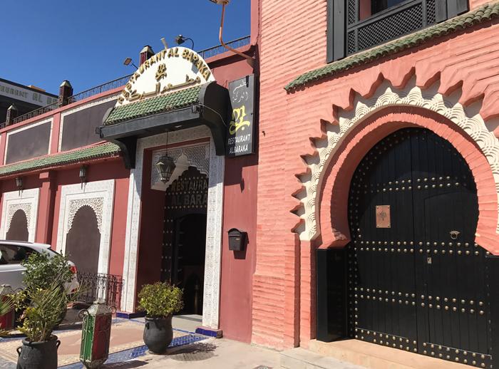 restaurant al baraka in Marrakesh