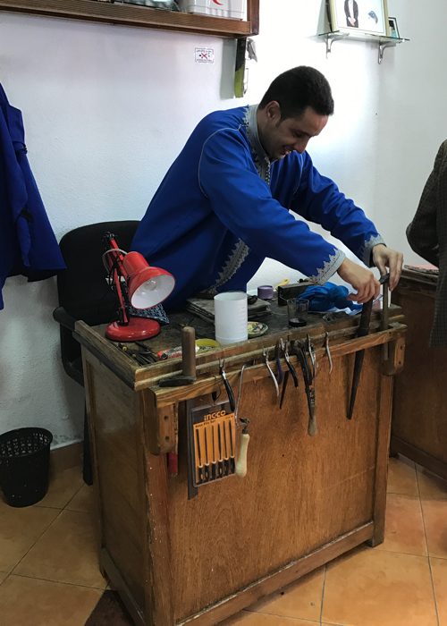 silversmith in essaouira