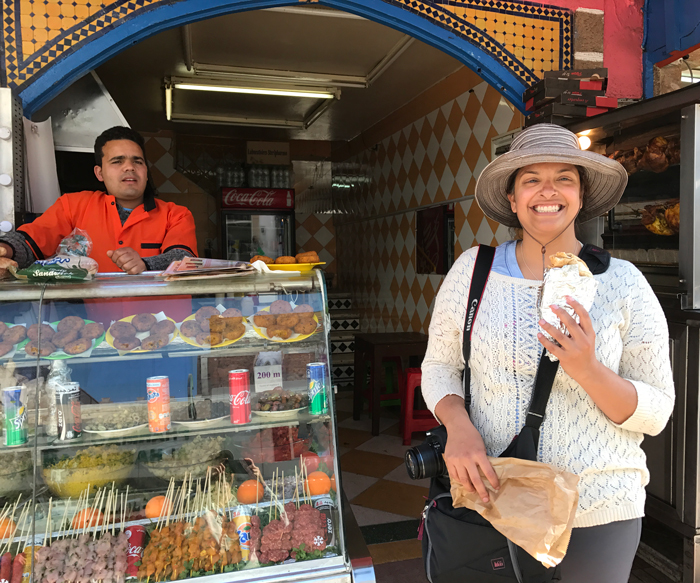 essaouira street food