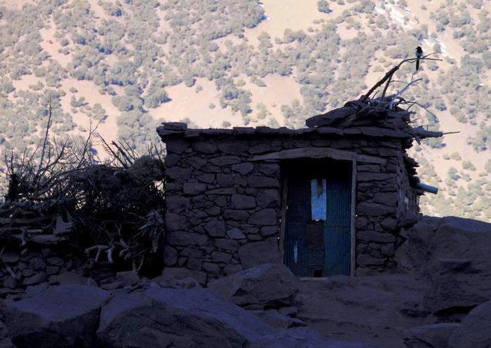 shelter on tizi oudite