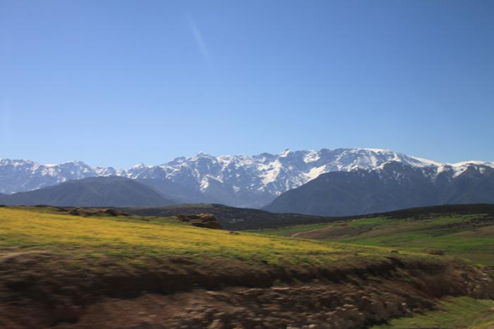 asni ouirgane valley