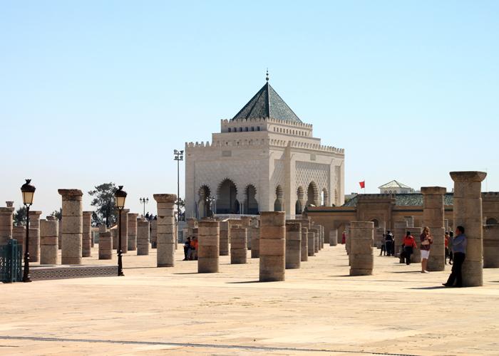 Mausoleum of Mohammed V in rabat