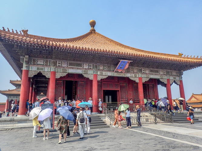 Hall of Middle Harmony at Forbidden City in Beijing