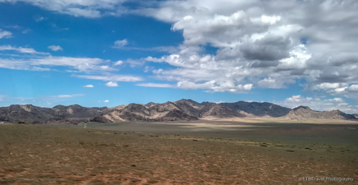 sandy hills of mongolia