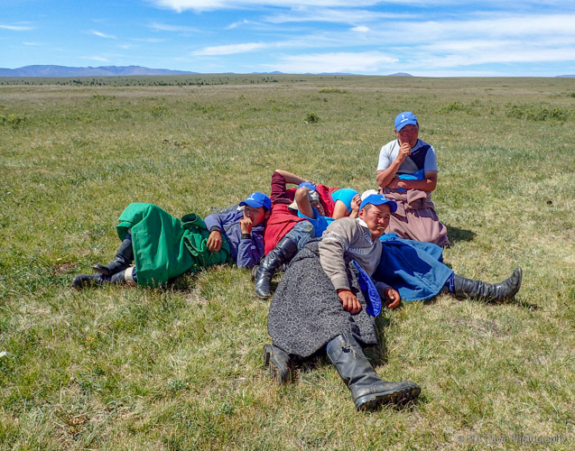 "tight spaces in gers and cold winters encourage ""cuddling"" among Mongolians"