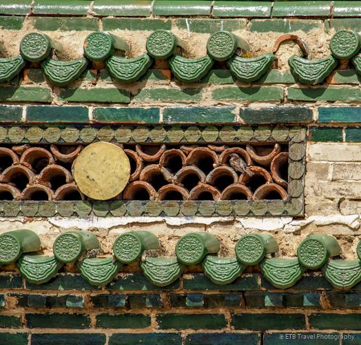 decorative part of Erdene Zuu Khiid