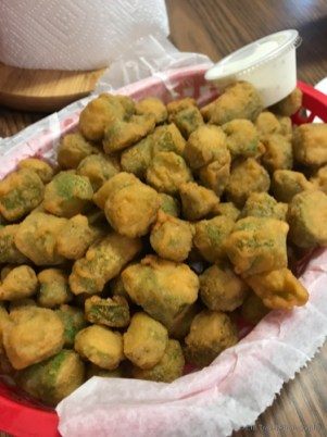 Fried okra!!!