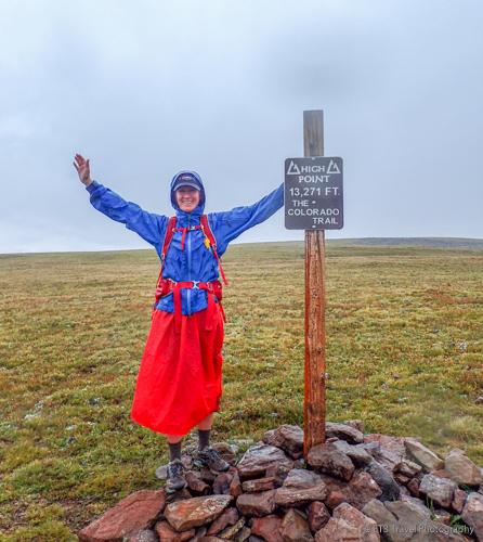 hiking 101 rain gear on the colorado trail