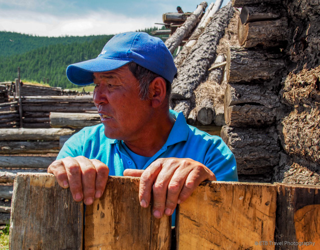 Ganbold, a mongolian cowboy