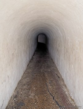 tunnel in the wall