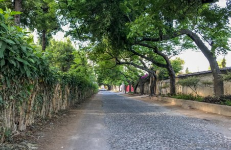 street in antigua