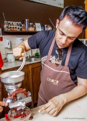 Making Chocolate in Antigua