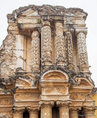 ruins and churches of Antigua