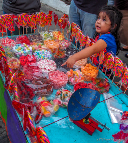 Child wants some candy