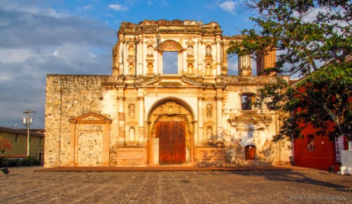ruins in Antigua