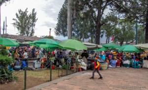 Parque la Merced in Antigua