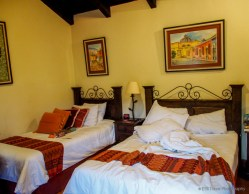 Hotel bedroom in Antigua