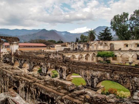 Convent of Santa Clara in Antigua