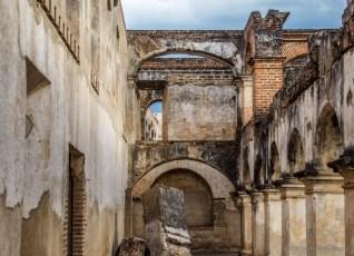 ruins and churches of Antigua