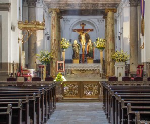 Inside Cathedral of Guatemala City