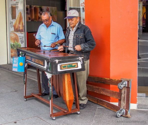 streets of Guatemala City