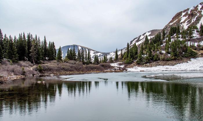 lost lake trail near buena vista