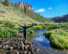 Marissa on the Creek