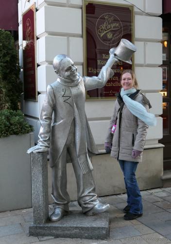 Statue in Bratislava