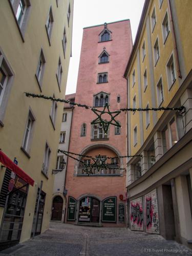 Baumburg Tower in Regensburg