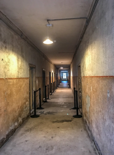 Hallway in Block 3 at Auschwitz