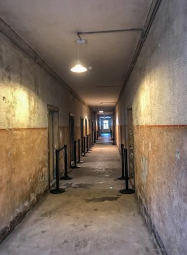 Hallway in Block 3 at Auschwitz