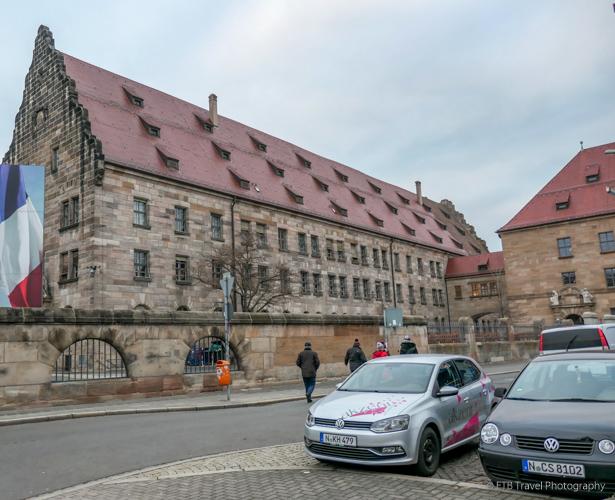 Memorium Nuremberg Trials in Palace of Justice in Nuremberg