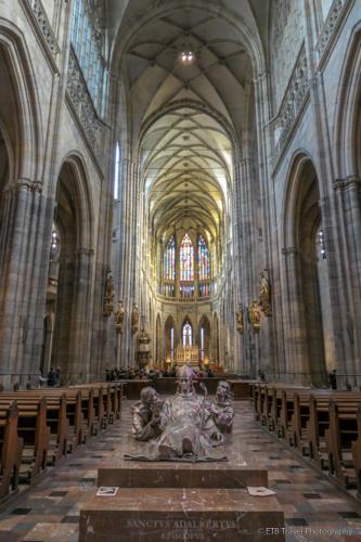 St. Vitus Church in Prague Castle