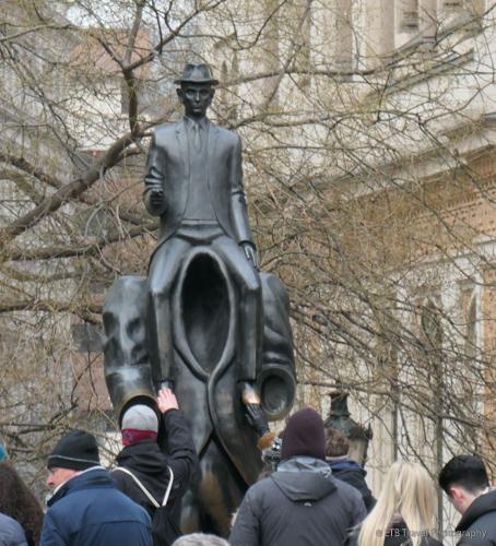 Kafka Monument Prague