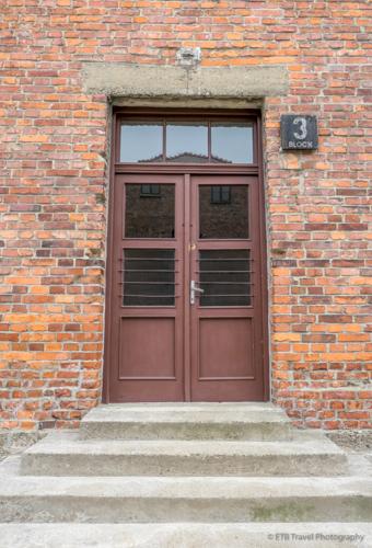 Block 3 at Auschwitz