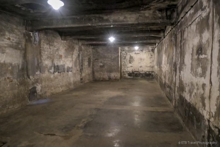gas chamber at Auschwitz